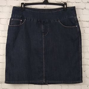 Jag Jeans Denim Skirt 16W Curvy Fit Pull on